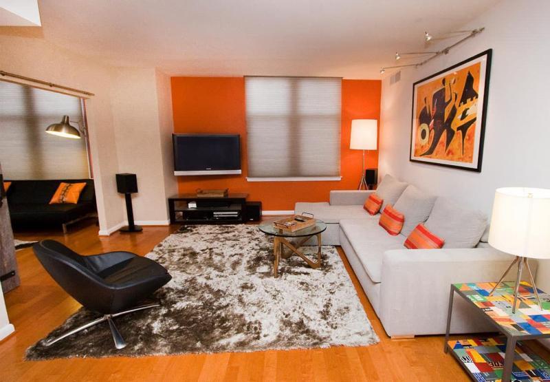 Оранжевая гостиная 18 м 3