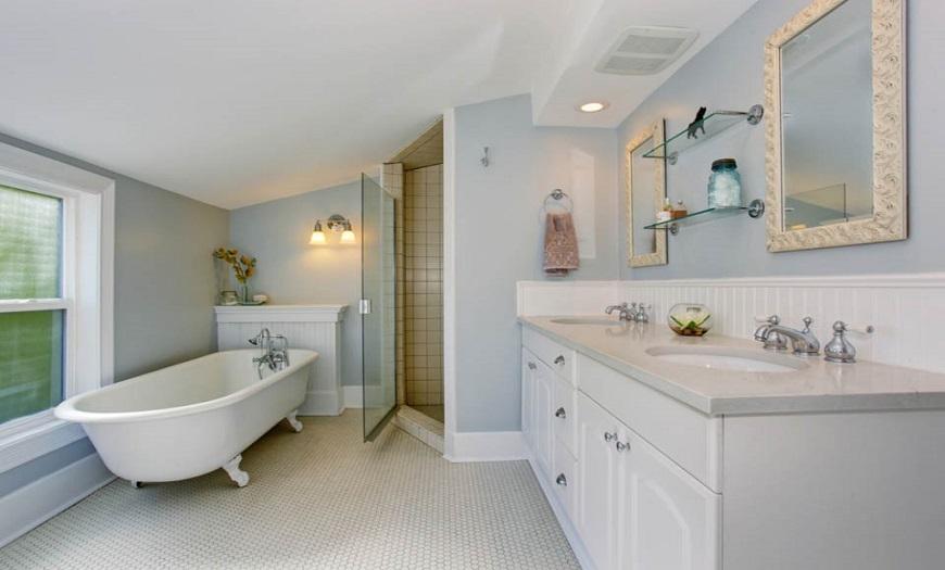 Дизайн ванной комнаты в 2021 году: 150+ лучших фотографий