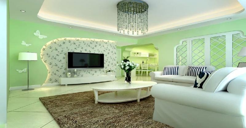 Зеленая гостиная 18 кв.м. 1