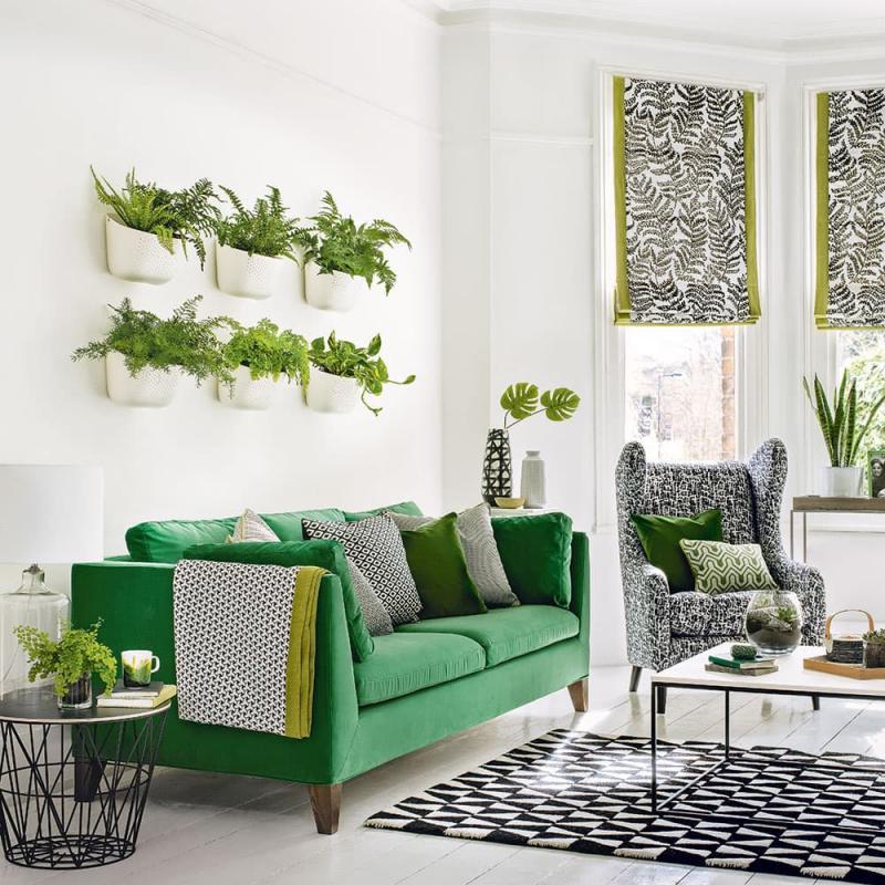 Зеленая гостиная 18 м 3