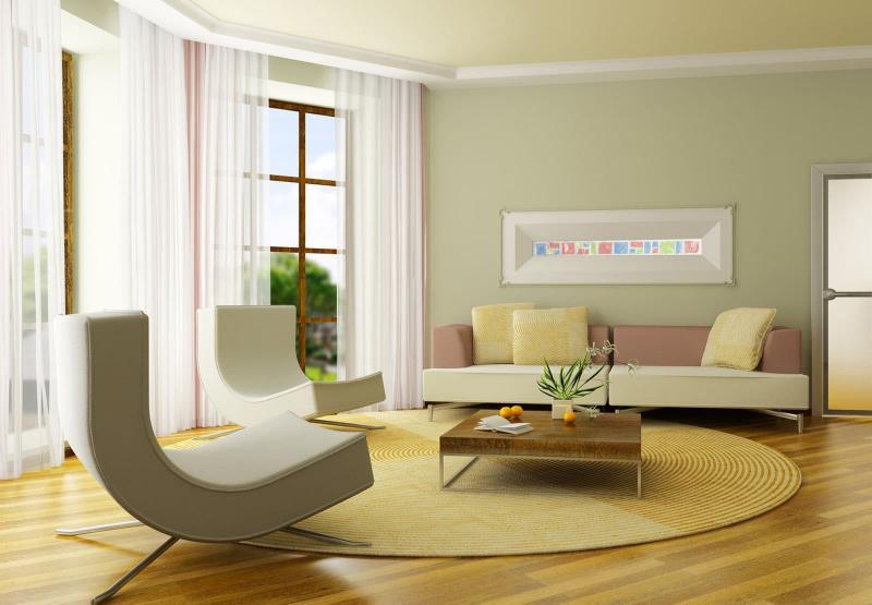 Зеленая гостиная 18 м 4