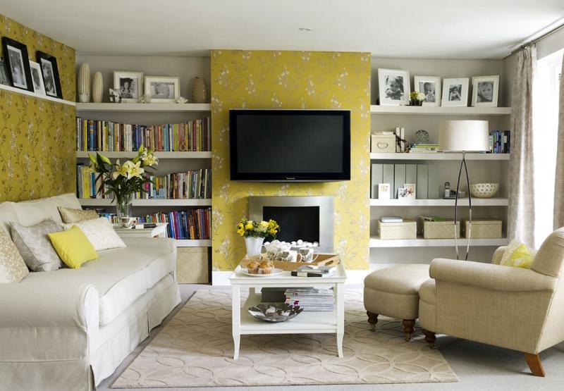 Желтая гостиная 18 м 2